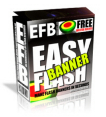 Product picture Easy Flash Banner - MRR Rights Included